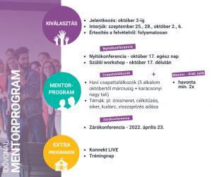 konnekt mentorprogram mentor timeline